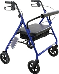 Bariatric Rollator, Blue by Roscoe