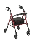 Adjustable Height Rollator with 6