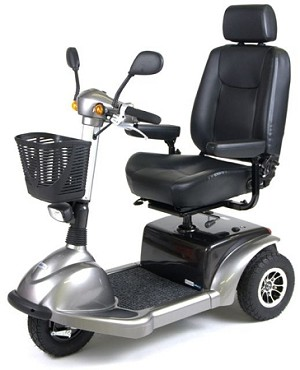 "Prowler Mobility Scooter, 3 Wheel, 20"" Seat"