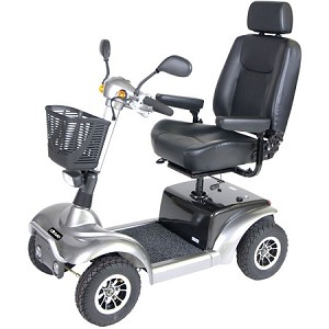 "Prowler Mobility Scooter, 4 Wheel, 22"" Seat"