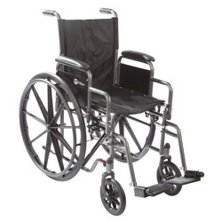K1 16' x 16'  Wheelchair with removable desk-length arms by Roscoe